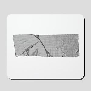 duck tape silver Mousepad