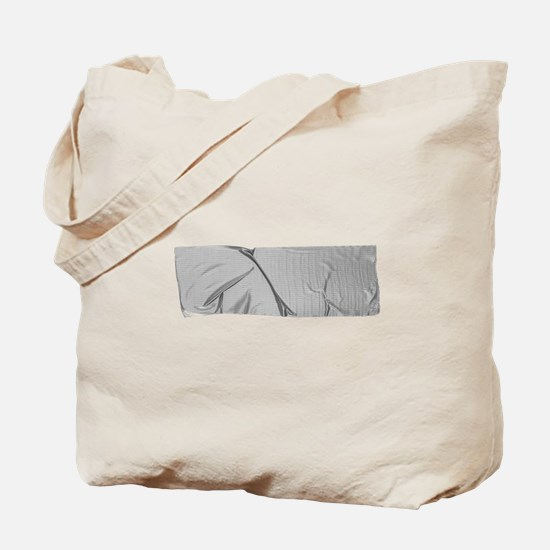 duck tape silver Tote Bag