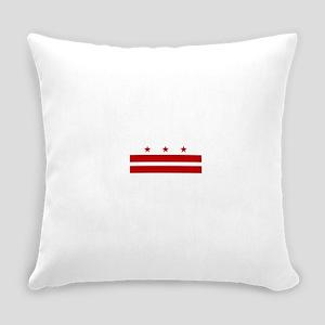 Washington DC Flag Everyday Pillow