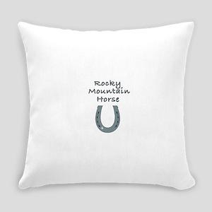 rocky mountain horse Everyday Pillow