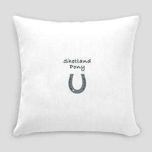 Shetland Pony Everyday Pillow