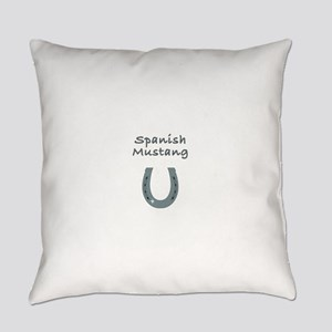 spanish mustang Everyday Pillow