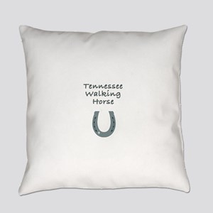 tennessee walking horse Everyday Pillow