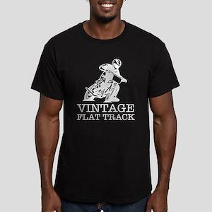 Flat Track White Logo T-Shirt