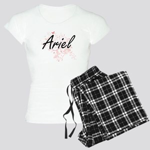 Ariel Artistic Name Design Women's Light Pajamas