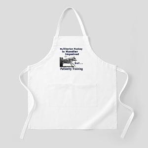 Siberian Huskey Agility BBQ Apron
