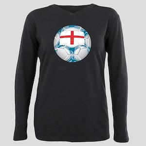 Championship England Soccer Plus Size Long Sleeve
