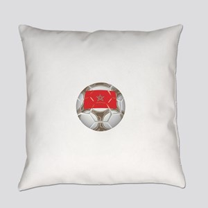 Championship Morocco Soccer Everyday Pillow