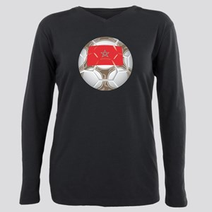 Championship Morocco Soccer Plus Size Long Sleeve