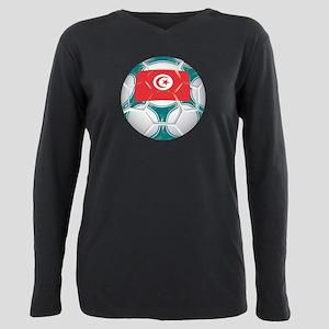 Championship Tunisia Soccer Plus Size Long Sleeve