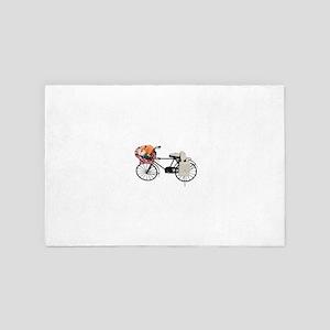 Bicycle071809 4' x 6' Rug