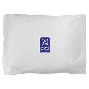 Access-at-Rear Pillow Sham