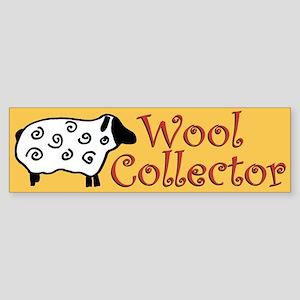 Wool Collector Bumper Sticker