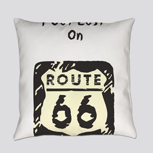 got_lost_rt66 Everyday Pillow