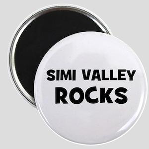 Simi Valley Rocks Magnet
