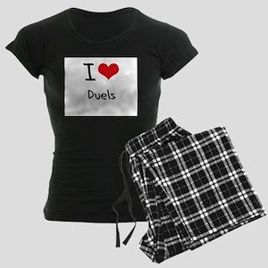 I Love Duels Pajamas