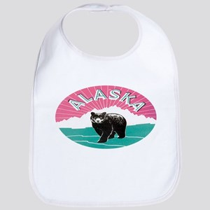 Travel Alaska Retro Bib