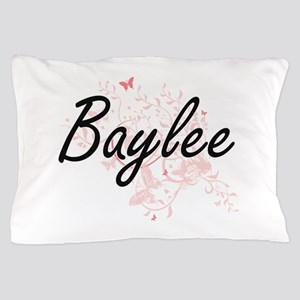 Baylee Artistic Name Design with Butte Pillow Case