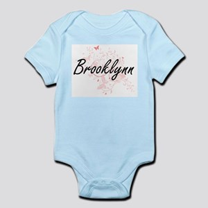 Brooklynn Artistic Name Design with Butt Body Suit