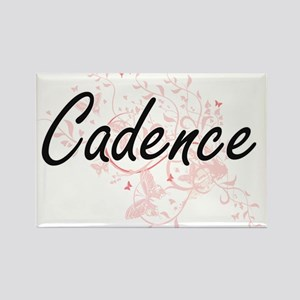 Cadence Artistic Name Design with Butterfl Magnets