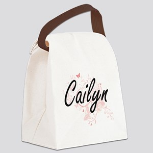 Cailyn Artistic Name Design with Canvas Lunch Bag