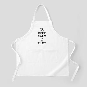 Keep calm I'm a Pilot Apron