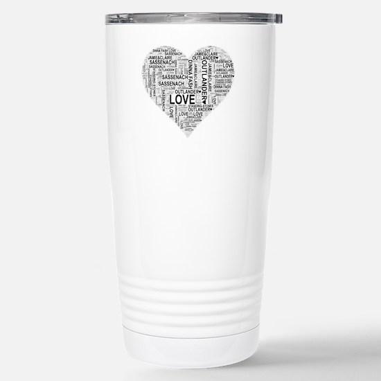 Heart Outlander Stainless Steel Travel Mug