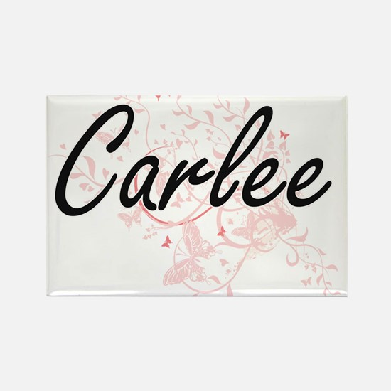Carlee Artistic Name Design with Butterfli Magnets
