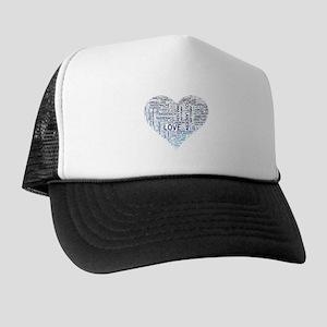 Blue Heart Outlander Trucker Hat