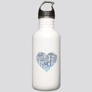 Blue Heart Outlander Stainless Water Bottle 1.0L