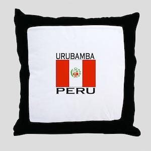 Urubamba, Peru Throw Pillow