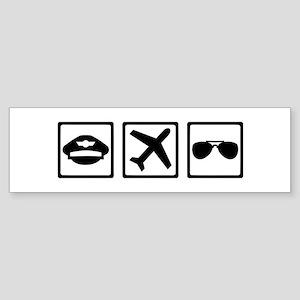 Pilot equipment Sticker (Bumper)