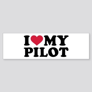 I love my Pilot Sticker (Bumper)