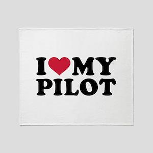 I love my Pilot Throw Blanket