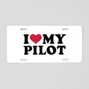 I love my Pilot Aluminum License Plate