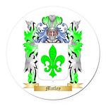 Motley Round Car Magnet