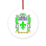 Motley Round Ornament