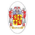 Mothe Sticker (Oval 50 pk)