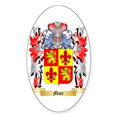 Mote Sticker (Oval 10 pk)