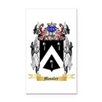 Mossley Rectangle Car Magnet
