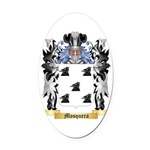 Mosquera Oval Car Magnet