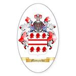 Mosqueda Sticker (Oval 10 pk)