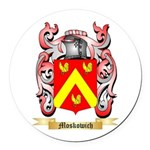 Moskowich Round Car Magnet