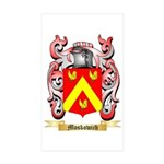 Moskowich Sticker (Rectangle 50 pk)