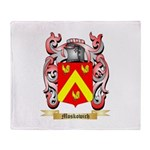 Moskowich Throw Blanket