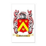Moskovitch 35x21 Wall Decal