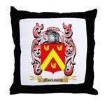 Moskovitch Throw Pillow