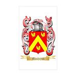 Mosheyov Sticker (Rectangle 50 pk)