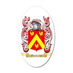 Mosheyov 20x12 Oval Wall Decal