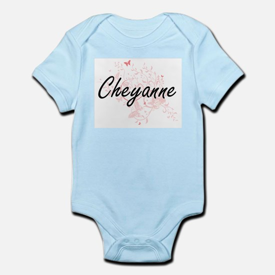 Cheyanne Artistic Name Design with Butte Body Suit